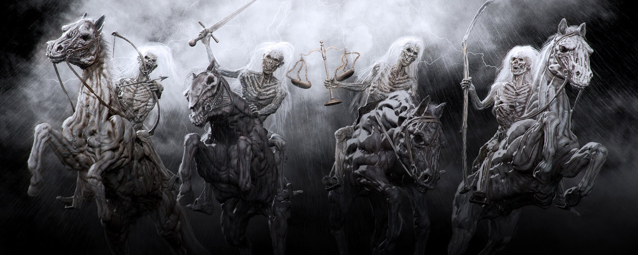 The Four Horsemen Of The Apocalypse Wallpaper And Background Image