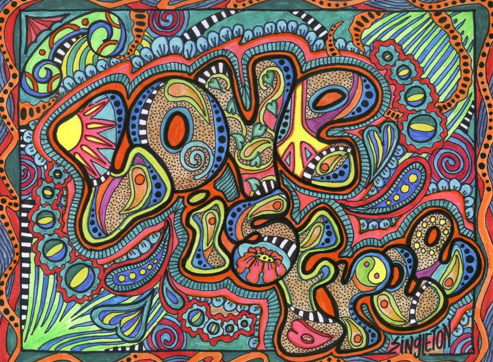 the beatles psychedelic wallpaper quotes quotesgram