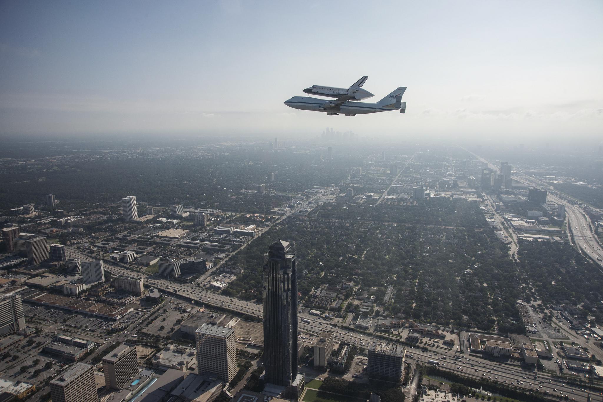 space shuttle landing in houston - photo #16