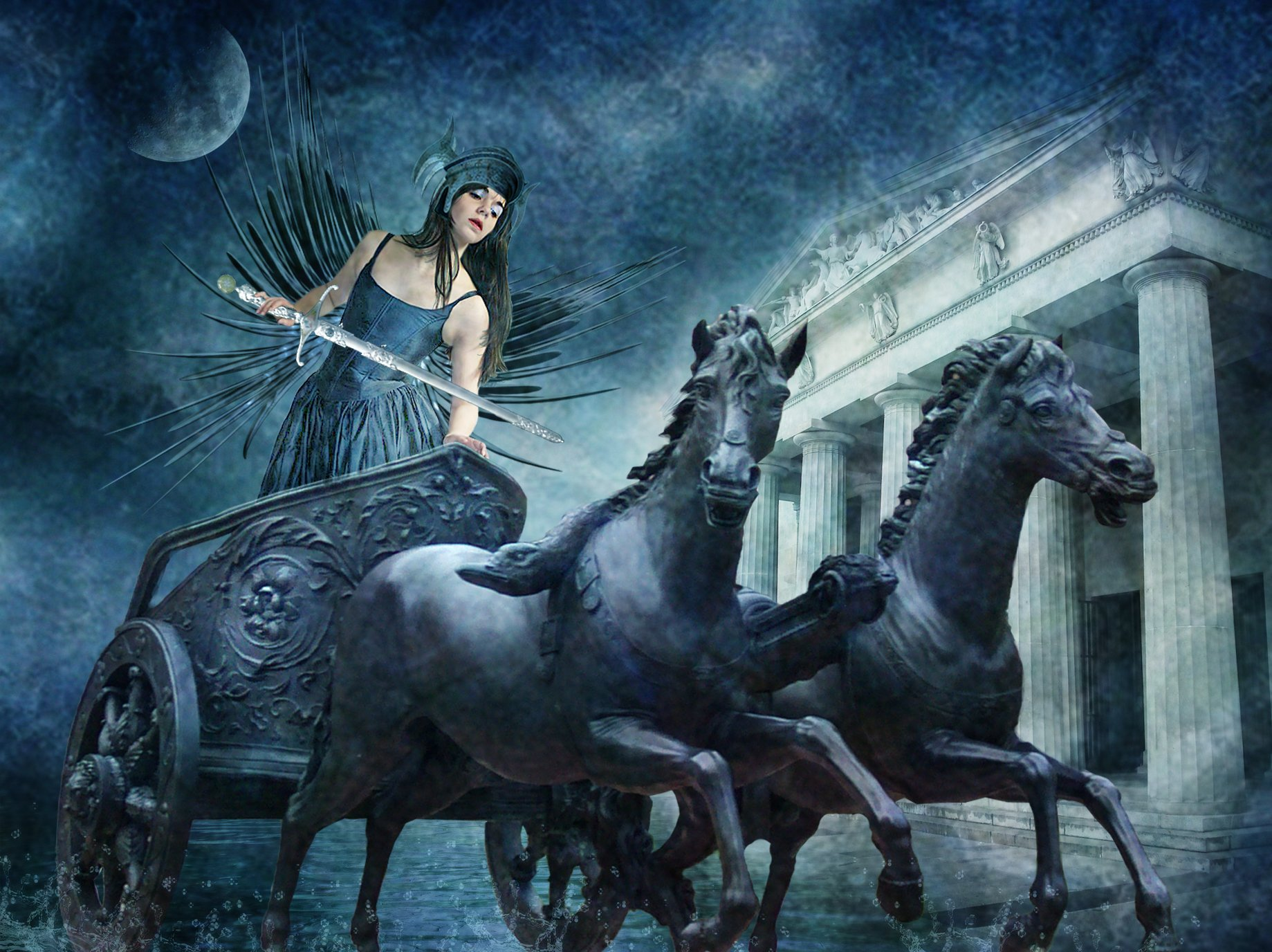 Nike goddess of victory wallpaper and background image - Fantasy nike wallpaper ...
