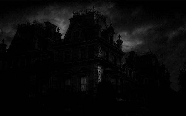 Holiday Halloween Spooky Haunted Mansion HD Wallpaper | Background Image
