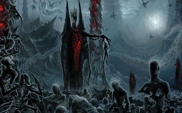 Oscuro Oculto Hell Horror Fondo de pantalla HD | Fondo de Escritorio
