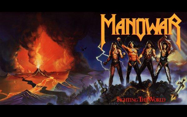 Music Manowar Band (Music) United States Heavy Metal Metal Hard Rock Album Cover HD Wallpaper | Background Image