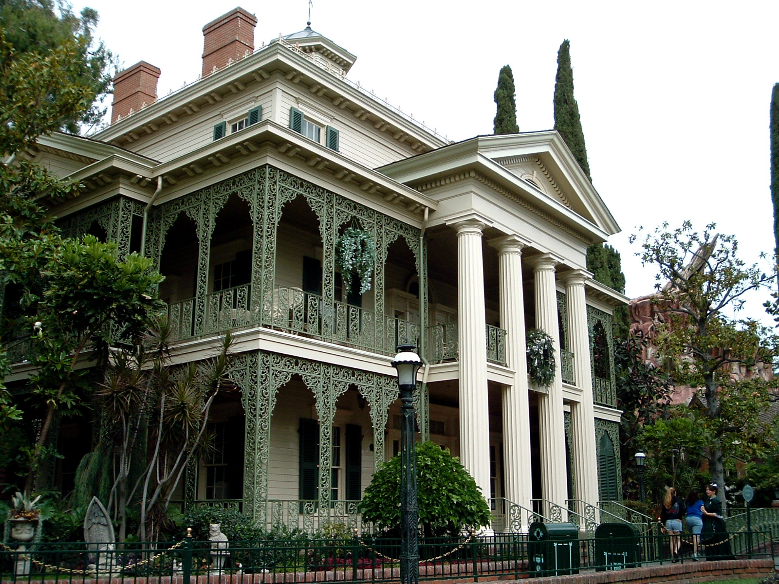 The Haunted Mansion Is A Dark Ride Located At Disneyland