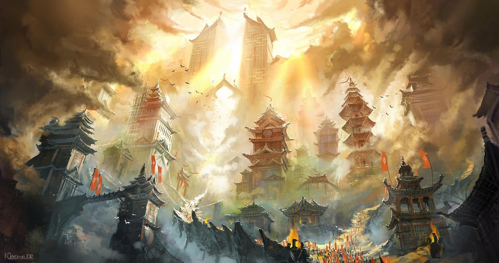 Full for Oriental wallpaper