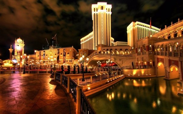 Man Made City Cities Venice Italy Casino HD Wallpaper | Background Image