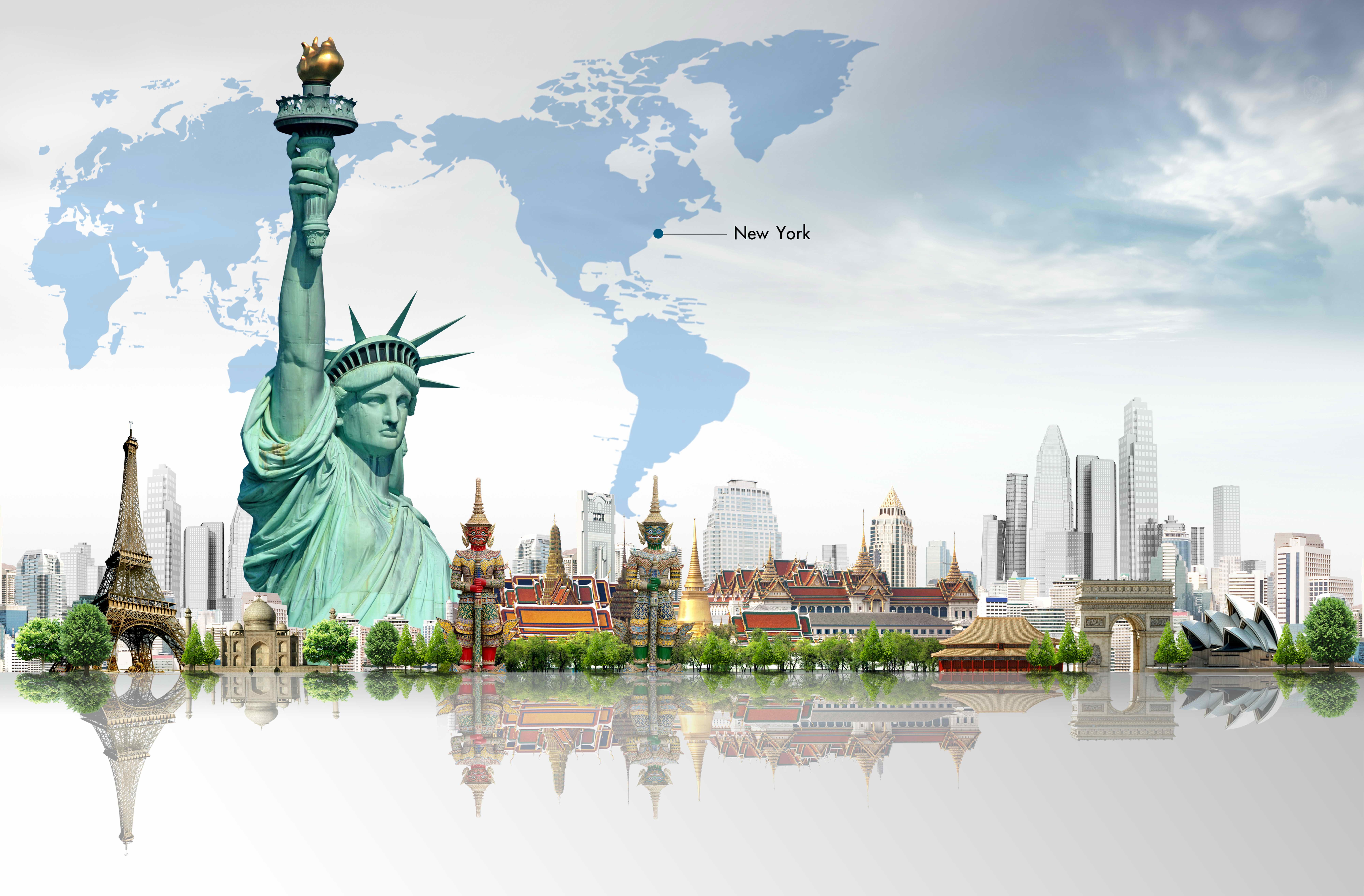 New York City USA 8k Ultra HD Wallpaper