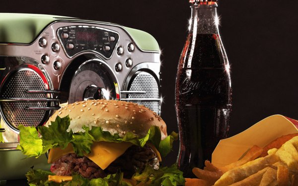 Food Still Life Hamburger HD Wallpaper | Background Image
