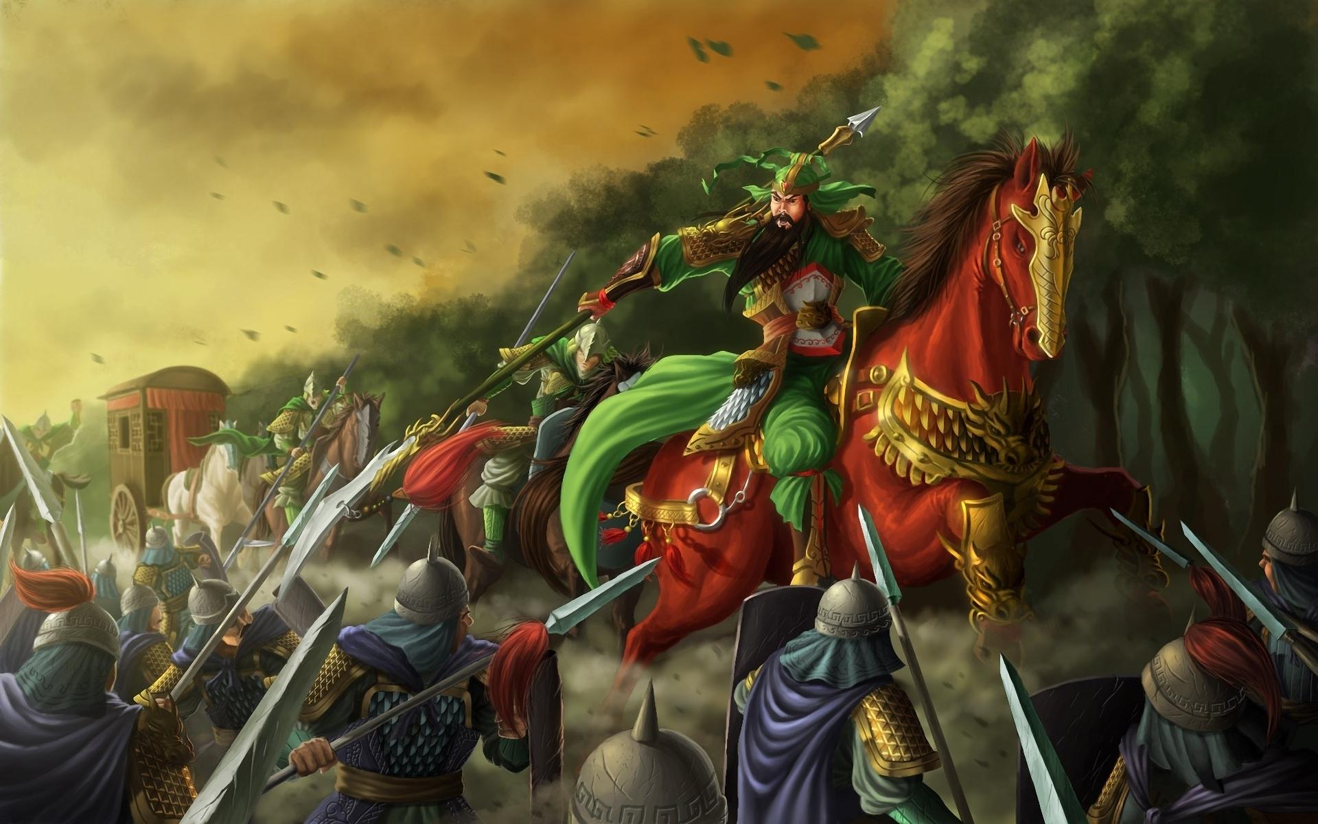 1 Guan Yu HD Wallpapers | Backgrounds - Wallpaper Abyss