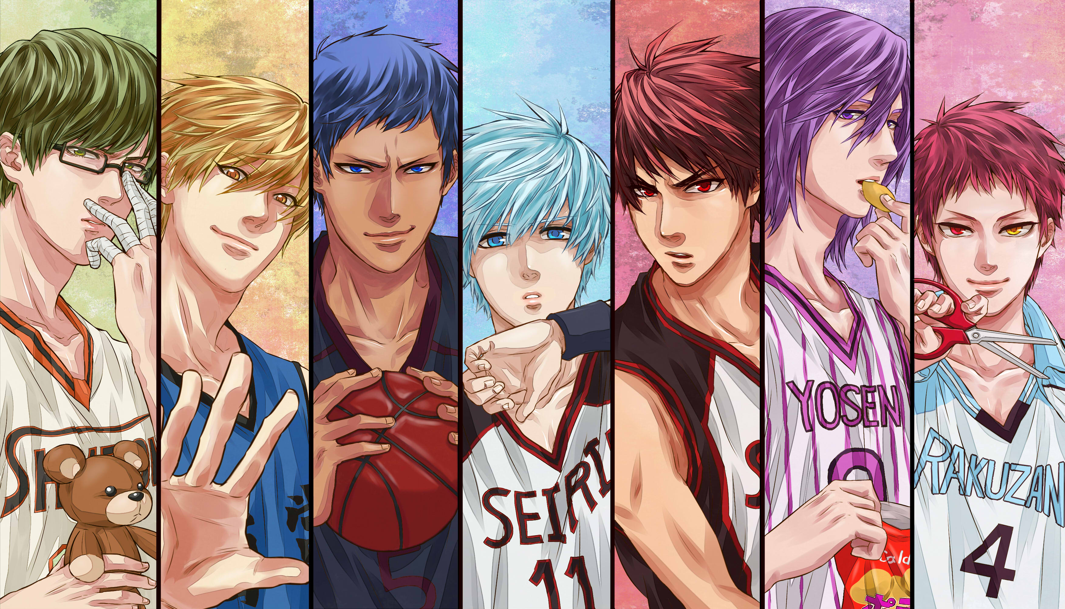 Anime Wallpapers Kuroko No Basuke HD 4K Download For Mobile iPhone & PC