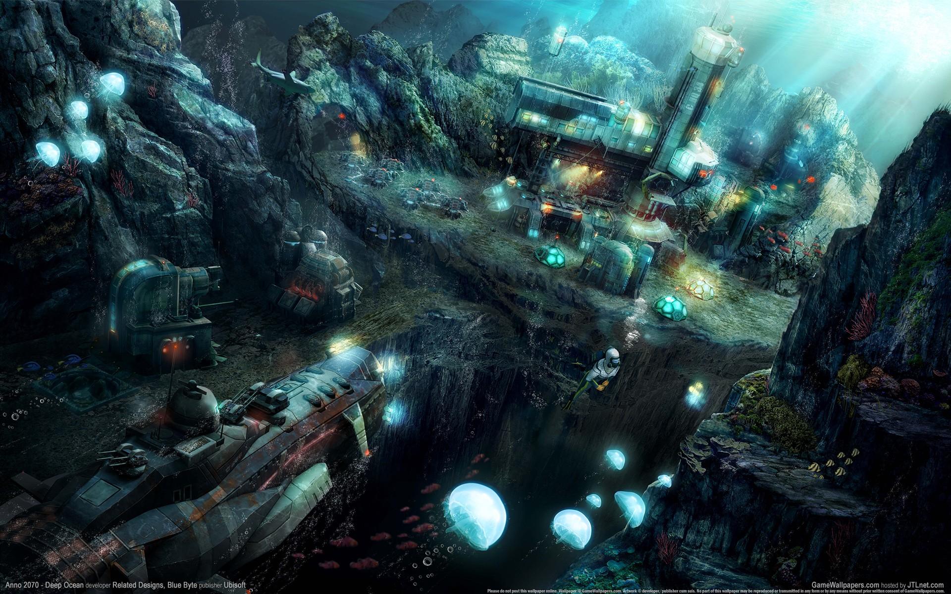 deep ocean desktop wallpaper - photo #10
