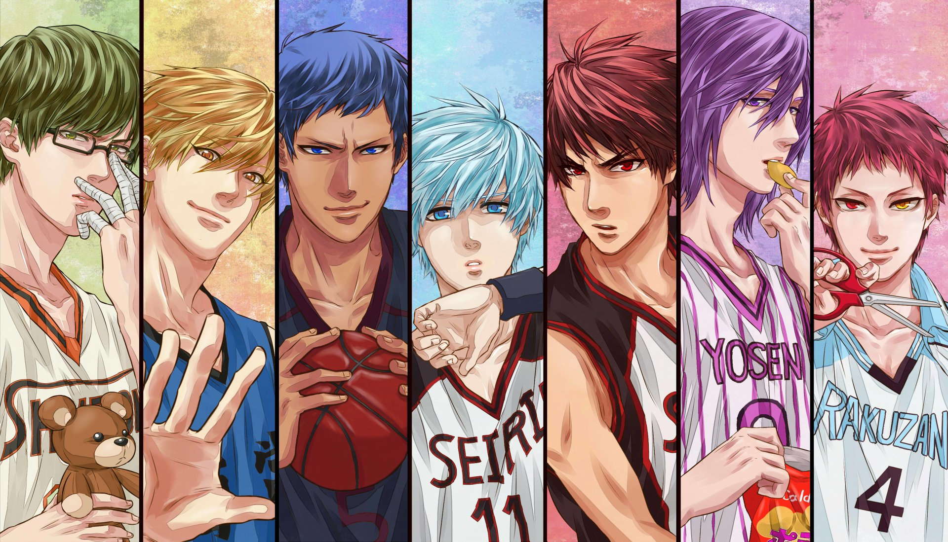 176 Kuroko S Basketball Hd Wallpapers Background Images Wallpaper Abyss