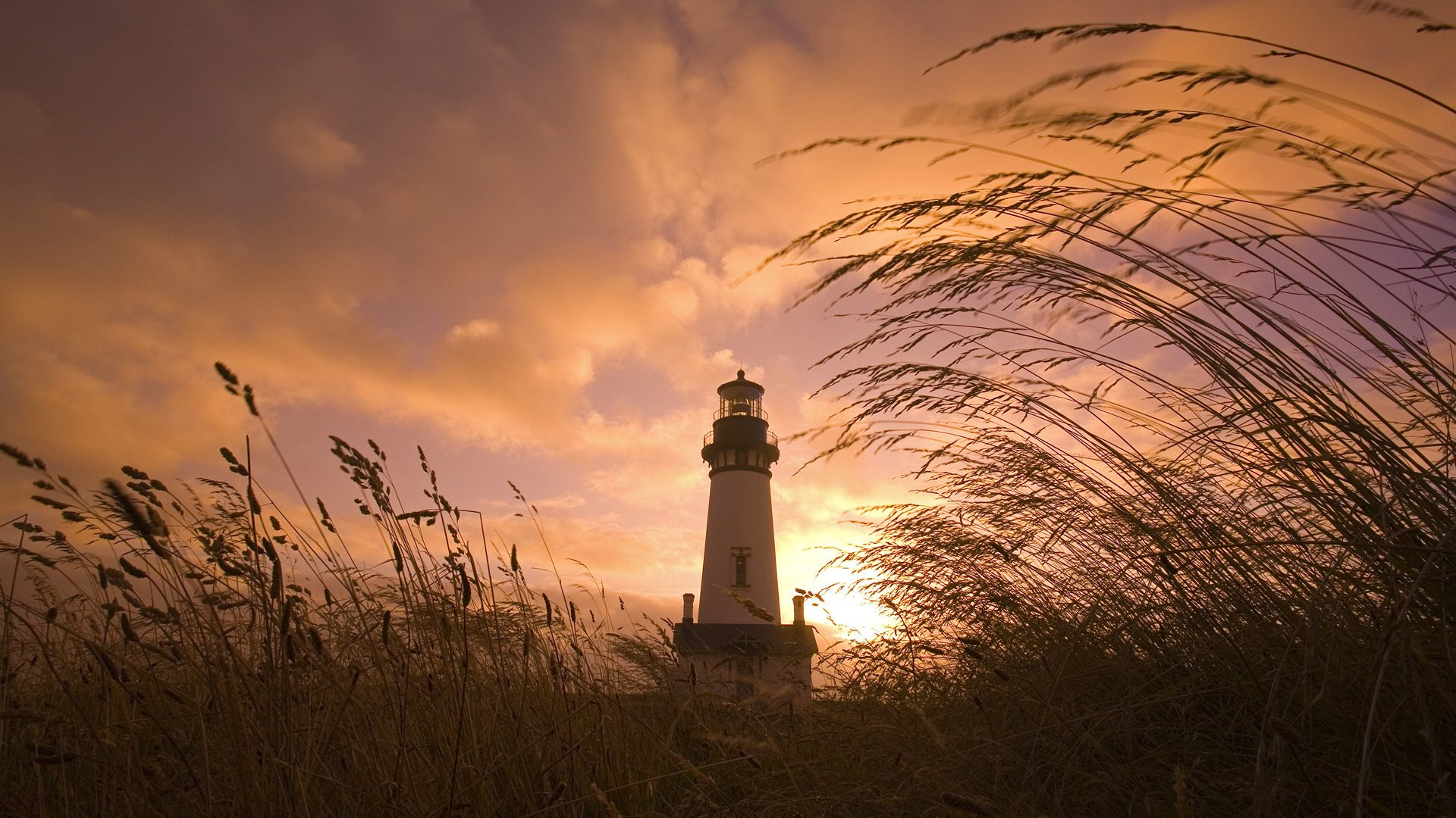 Man Made - Lighthouse  Sunrise Sunset Wallpaper