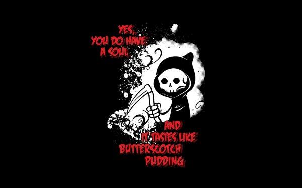 Humor Dark Grim Reaper HD Wallpaper | Background Image