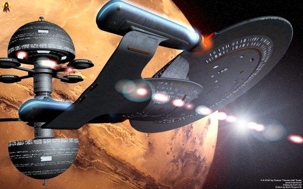 TV Show Star Trek: The Original Series Star Trek Enterprise Starship Spaceship Space Sci Fi HD Wallpaper | Background Image
