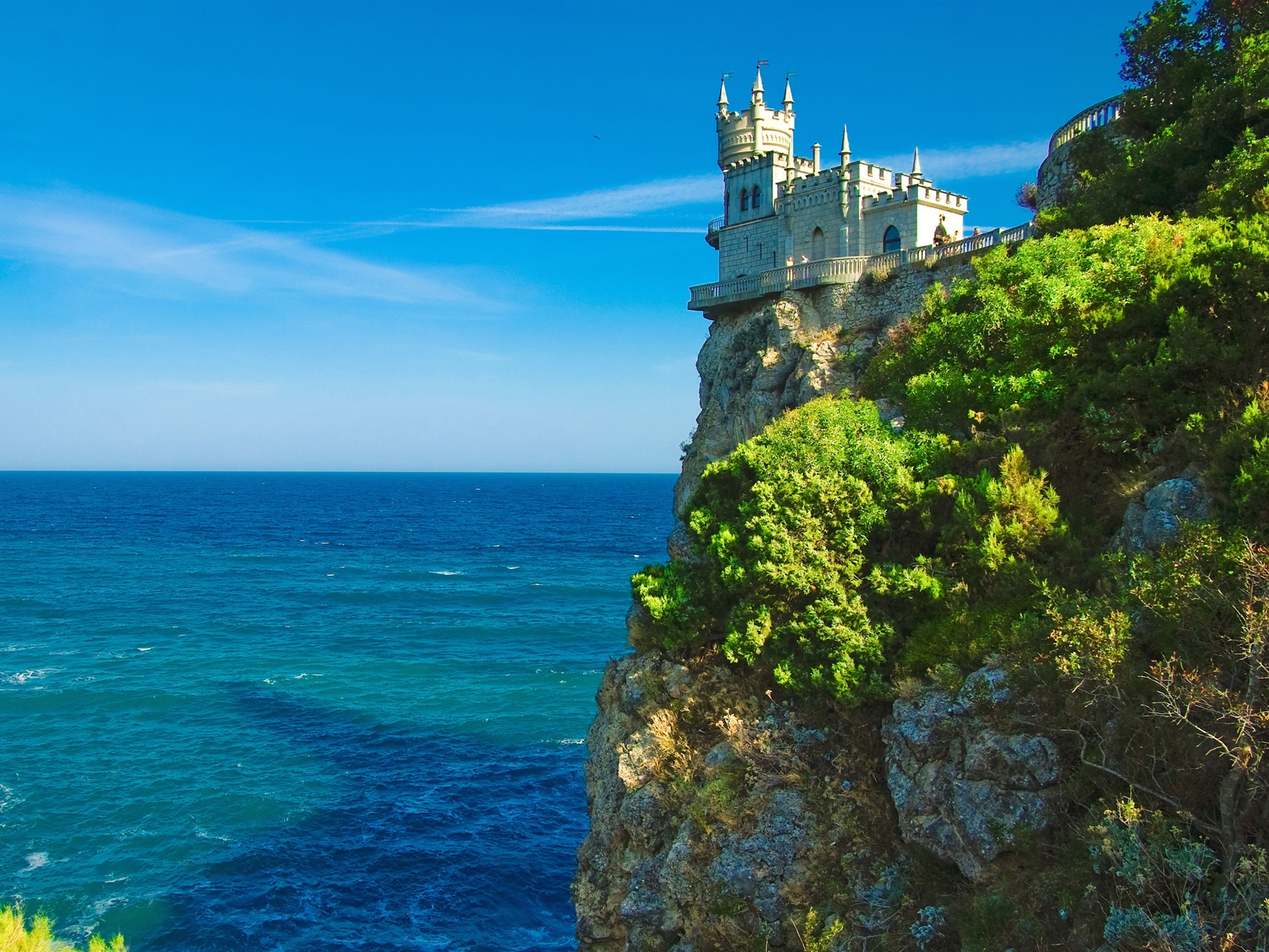 Irish Castle On a Rock