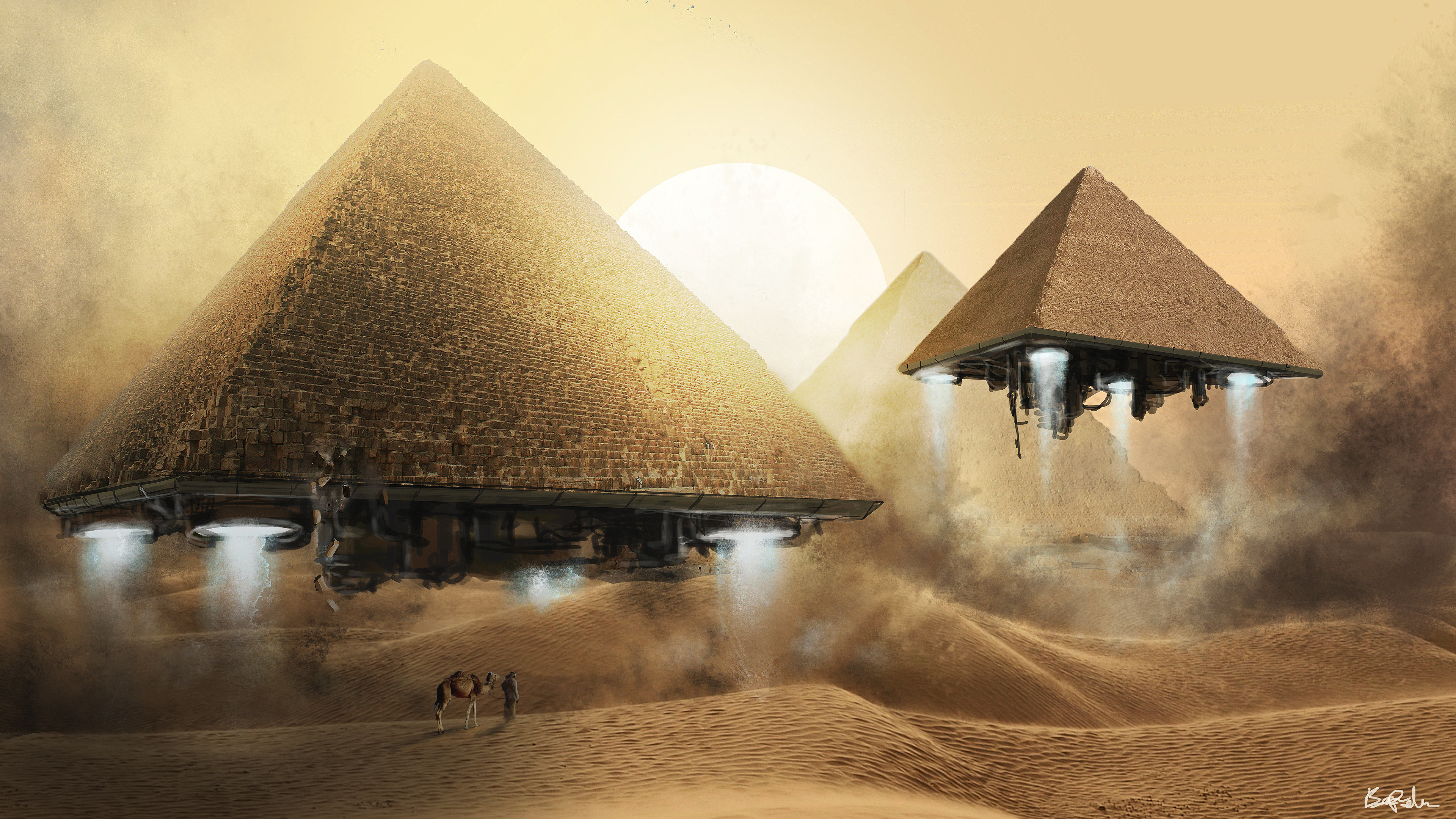 89 Pyramid Hd Wallpapers Background Images Wallpaper Abyss
