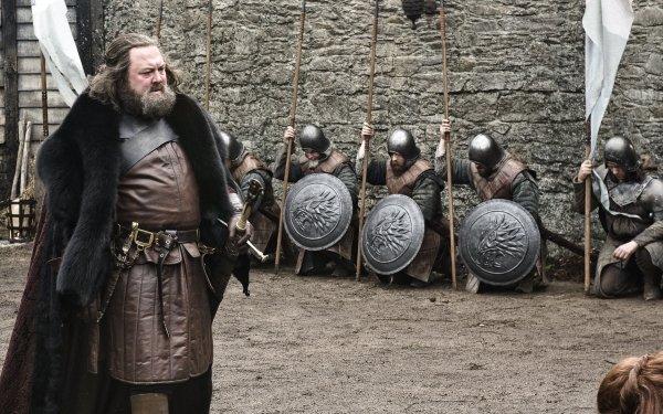 TV Show Game Of Thrones Robert Baratheon Mark Addy HD Wallpaper | Background Image
