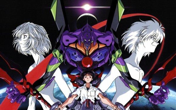 Anime End of Evangelion Evangelion Shinji Ikari Kaworu Nagisa Rei Ayanami Fondo de pantalla HD | Fondo de Escritorio