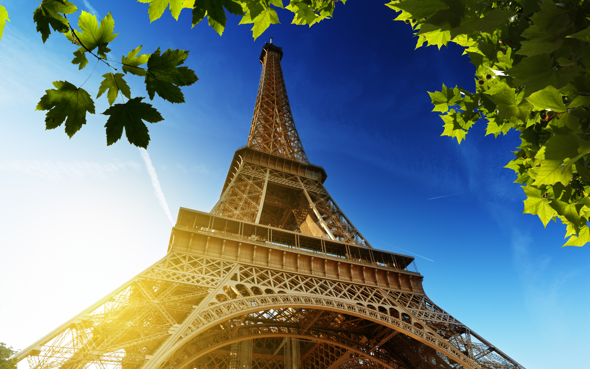 Eiffel Tower Full HD Wallpaper And Background Image