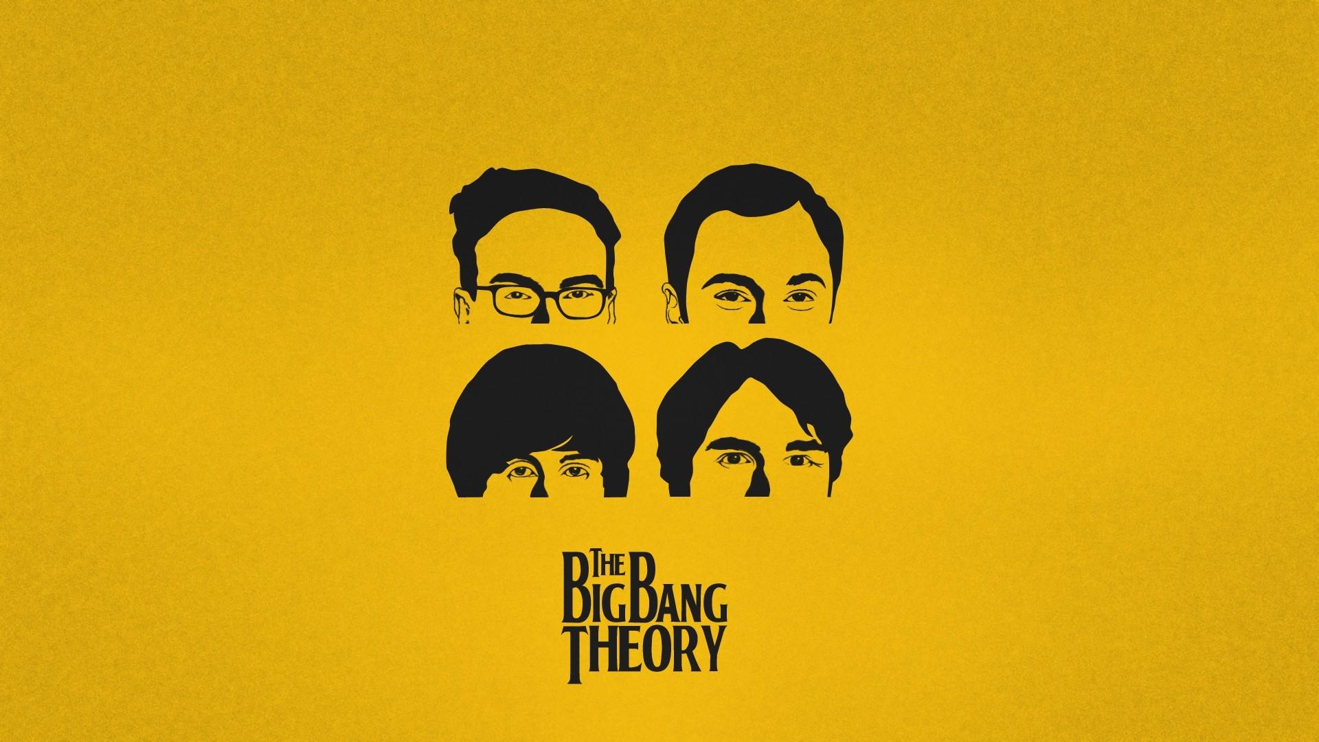 Series De Televisi 243 N The Big Bang Theory Yellow The