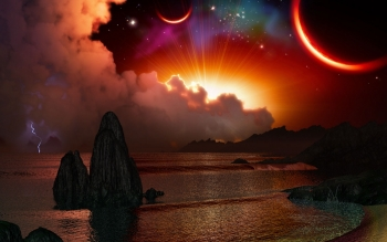 Science-Fiction - Landschaft Wallpapers and Backgrounds ID : 311332