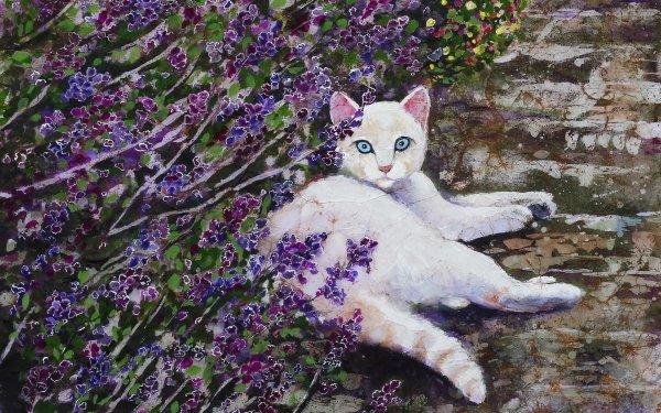 Animal Cat Cats Illistration HD Wallpaper   Background Image