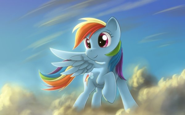 TV Show My Little Pony: Friendship is Magic My Little Pony Rainbow Dash Pegasus Wings Pony HD Wallpaper | Background Image