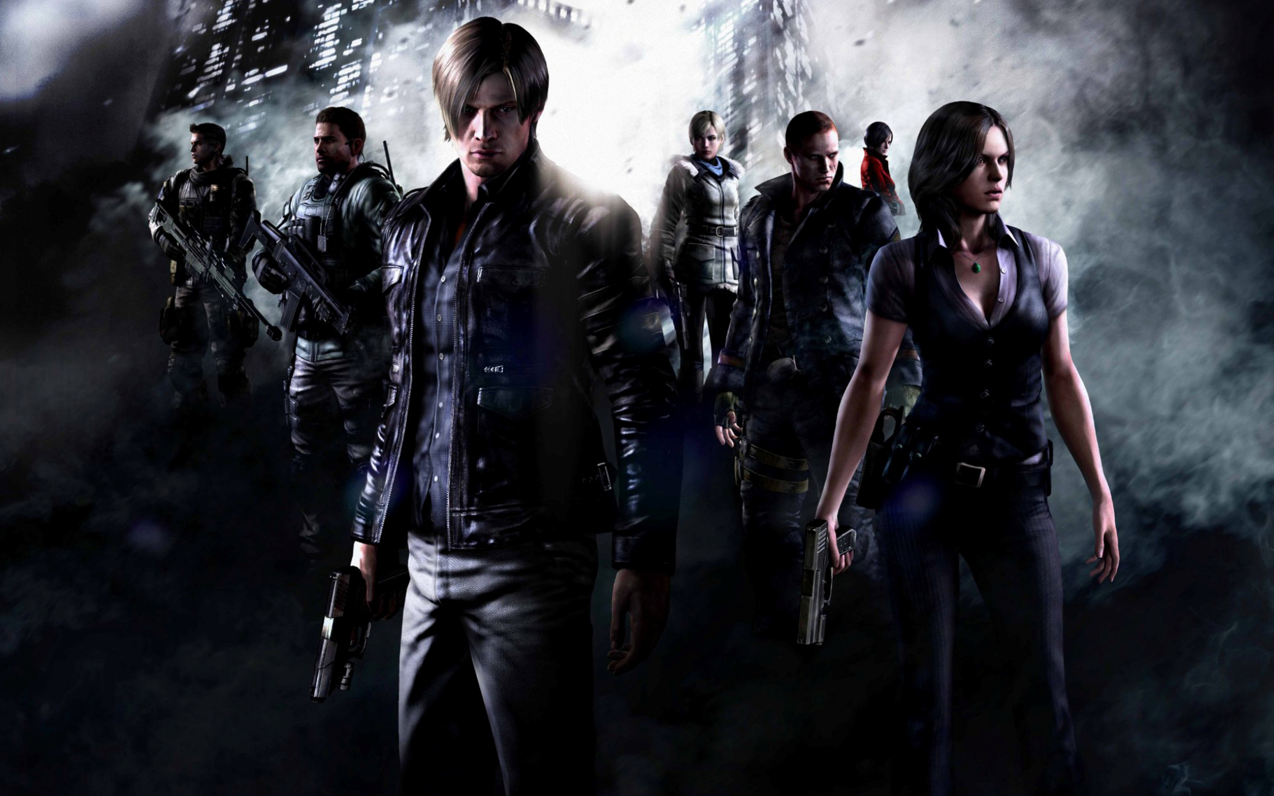 Hd wallpaper resident evil - Hd Wallpaper Background Id 312122 2560x1600 Video Game Resident Evil 6