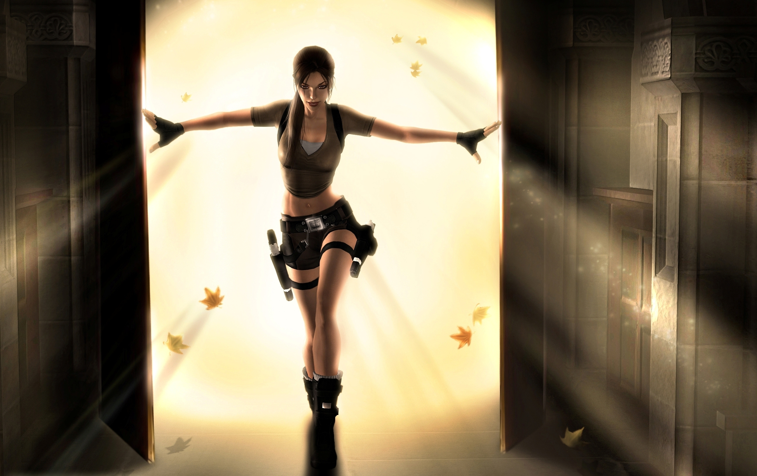 Wallpaper Abyss Explore the Collection Tomb Raider Video Game Tomb    Tomb Raider Anniversary Wallpaper