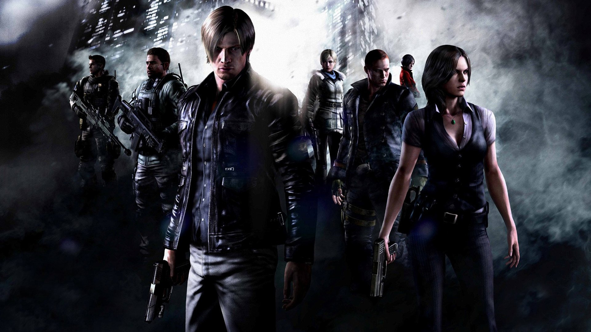 242 Resident Evil 6 Hd Wallpapers Background Images Wallpaper