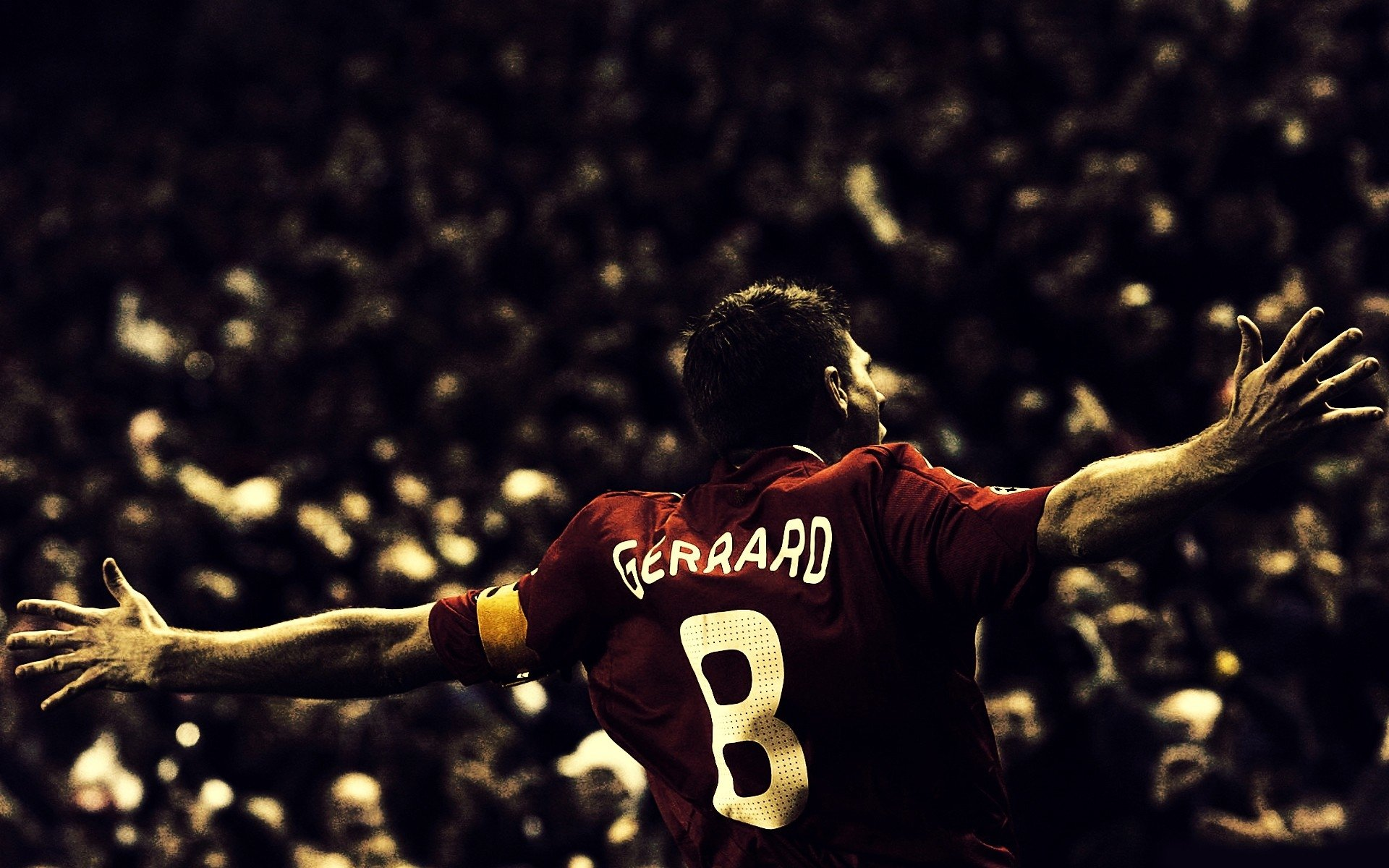 Sports - Steven Gerrard  Soccer Wallpaper