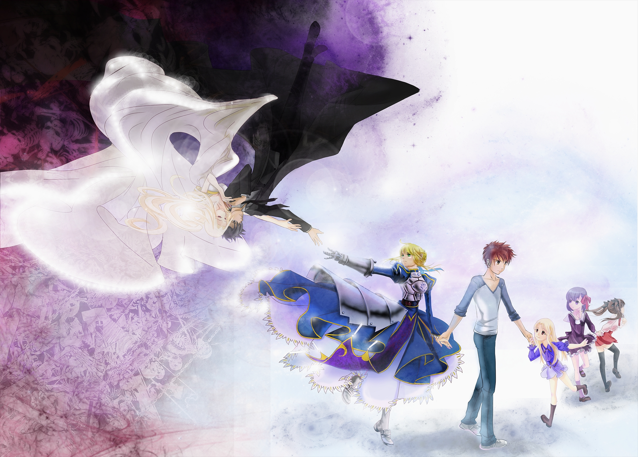 Fate Stay Night Hd Wallpaper Background Image 2094x1500 Id