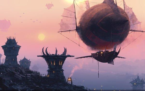Video Game World Of Warcraft Warcraft Steampunk Fantasy Sci Fi HD Wallpaper | Background Image