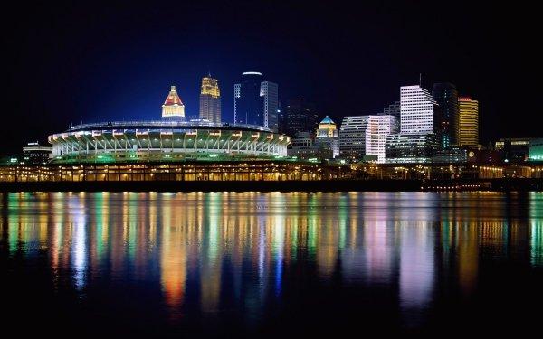 Man Made Cincinnati Cities United States Reflection Ohio HD Wallpaper   Background Image