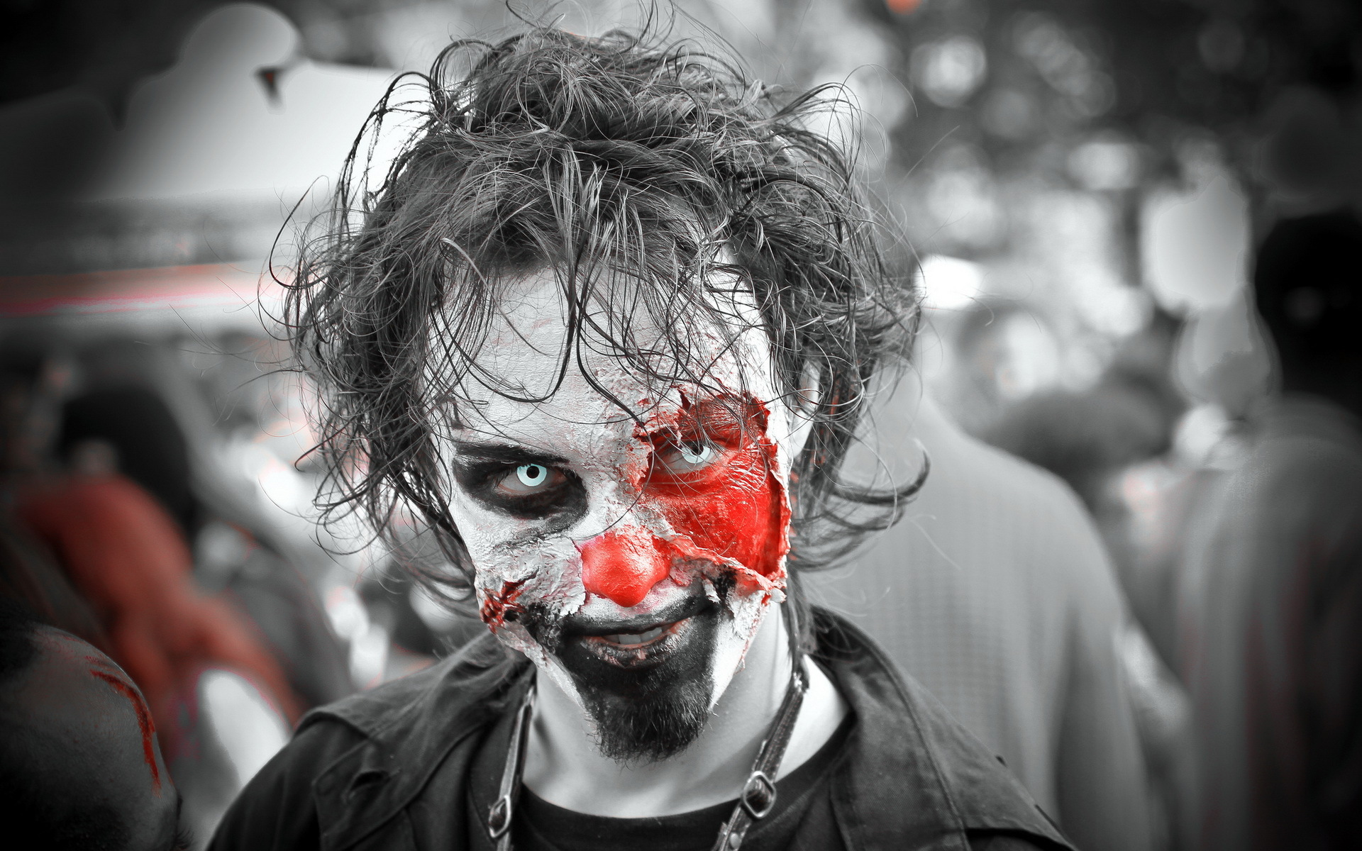 Hd wallpaper zombie - Dark Zombie Horror Creepy Spooky Scary Halloween Wallpaper