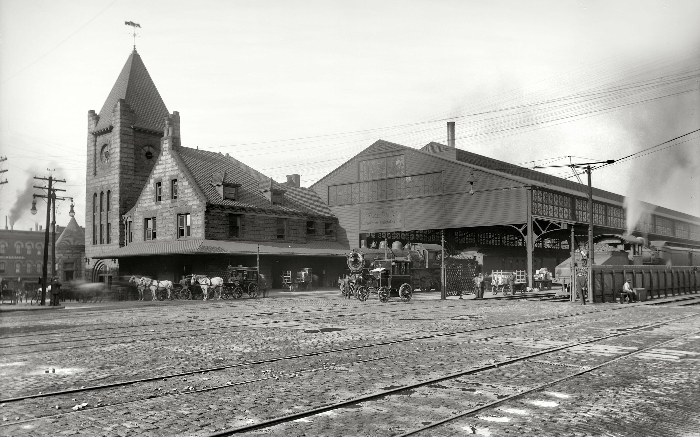 New York Central Railroad depot, Syracuse, N.Y