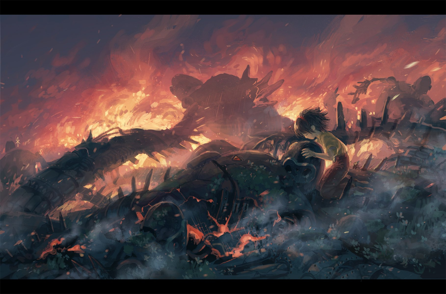 Tenkuu no shiro laputa wallpaper and background image - Anime war wallpaper ...