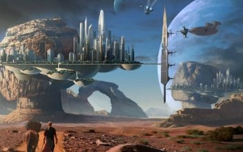 Science-Fiction - Landschaft Wallpapers and Backgrounds ID : 314143