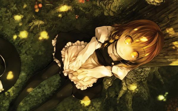 Anime Touhou Marisa Kirisame HD Wallpaper | Background Image