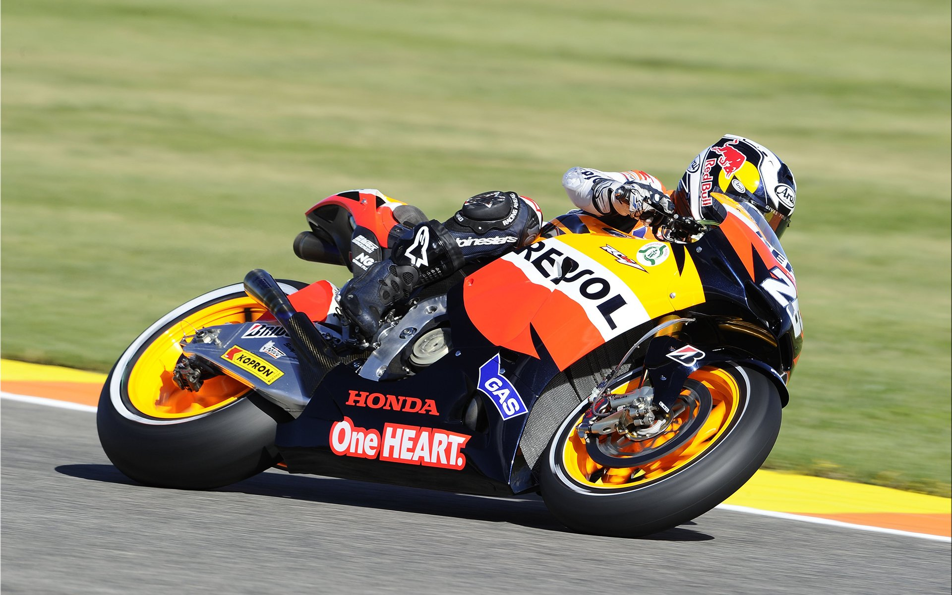 Sports - Motorcycle Racing  Motorcycle Sportsbike Racing Honda Cbr1000 Wallpaper