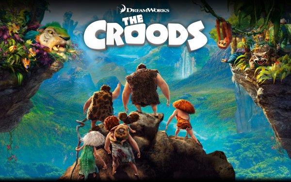 Movie The Croods Eep Thunk Grug Sandy Ugga Gran HD Wallpaper | Background Image