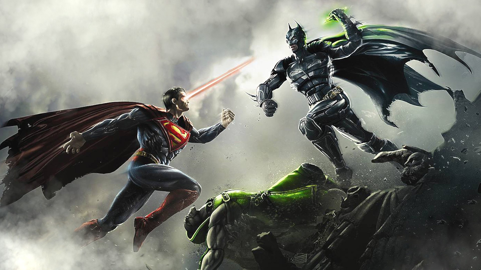 ... Among Us - Batman - Superman - Epic - Supernatural - Battle Wallpaper