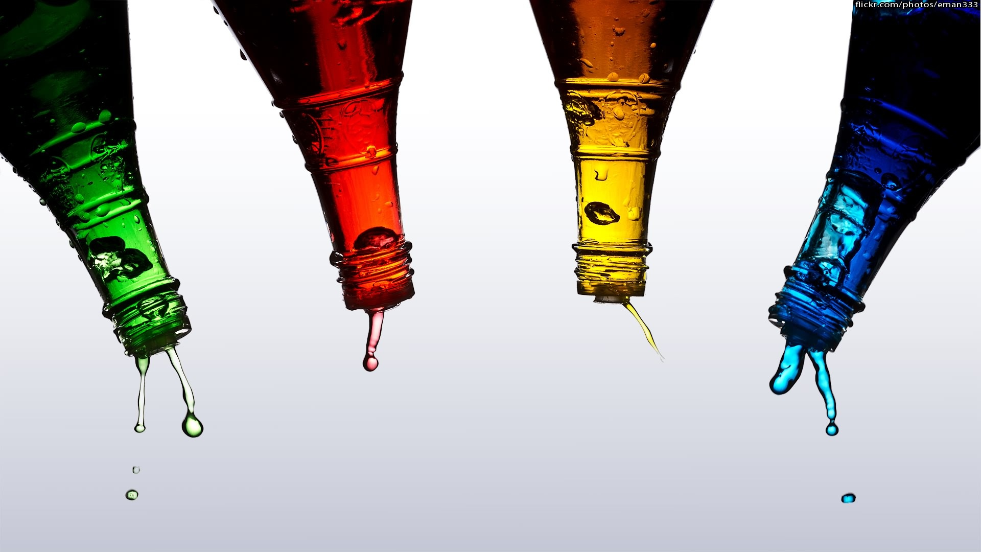 Bottle computer wallpapers desktop backgrounds for How do i make a wall with colored bottles