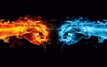 Abstract Cool Fist HD Wallpaper | Background Image