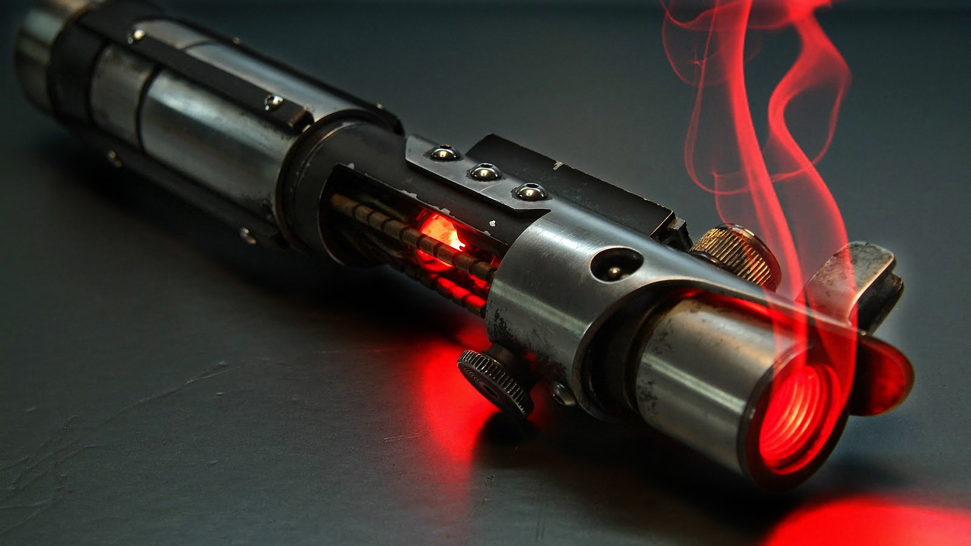 Sci Fi - Star Wars  Lightsaber Red Sci Fi Wallpaper