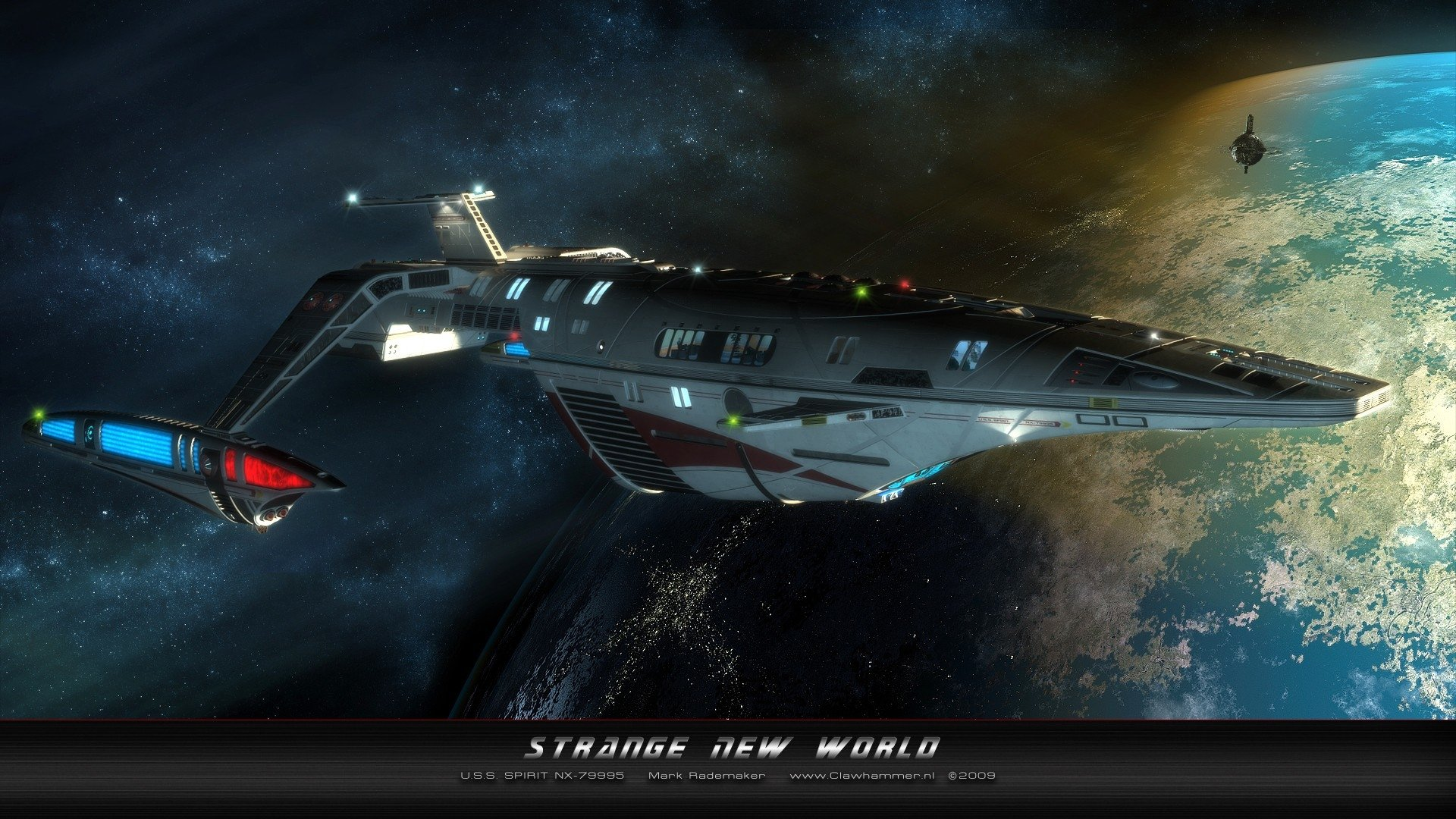 Sci Fi - Star Trek  Spaceship Wallpaper