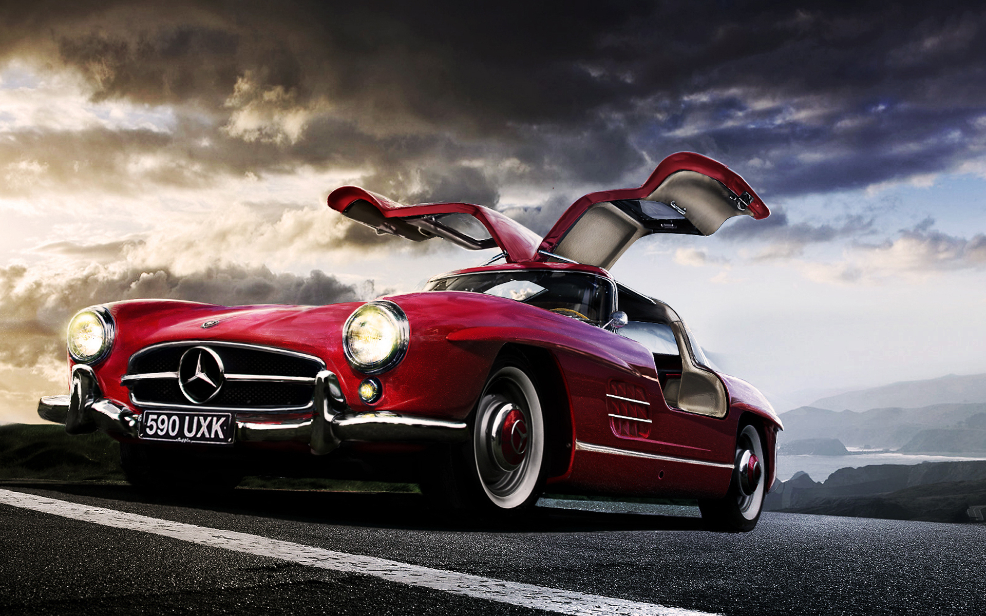Mercedes Full HD Wallpaper And Background Image