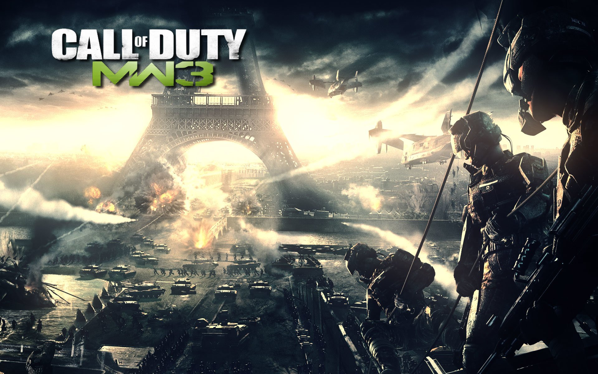 Call Of Duty Modern Warfare 3 Full HD Wallpaper And Background