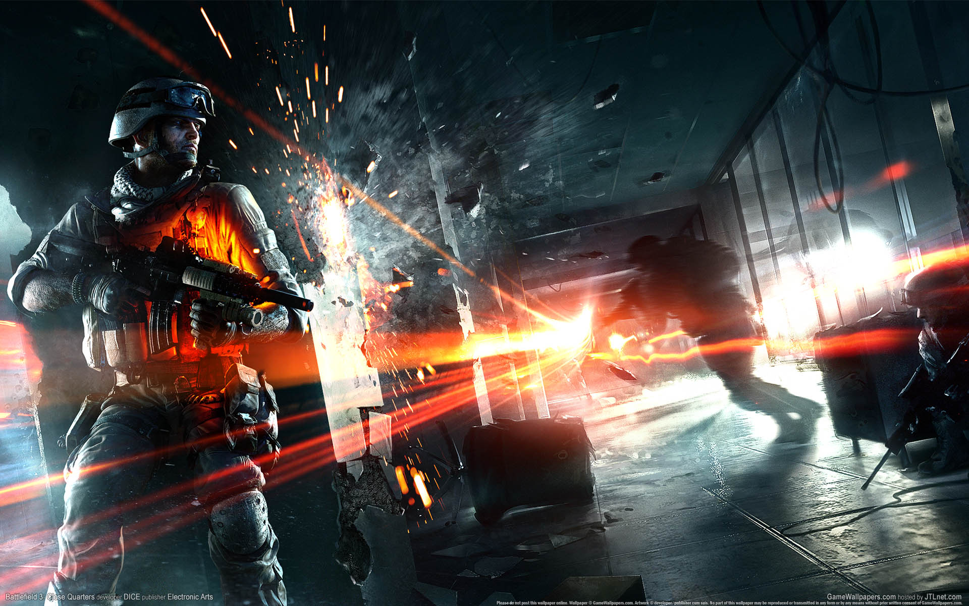 Bf 3 full hd wallpaper and background image 1920x1200 id320617 video game battlefield 3 game gun soldier wallpaper voltagebd Images